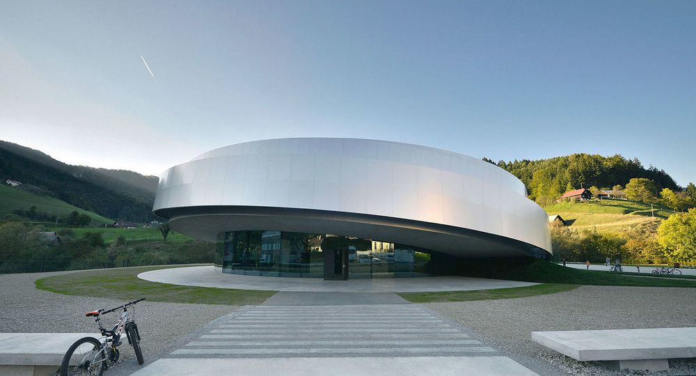 Arquitectura del Espacio.  Centro Cultural EU Space Technologies