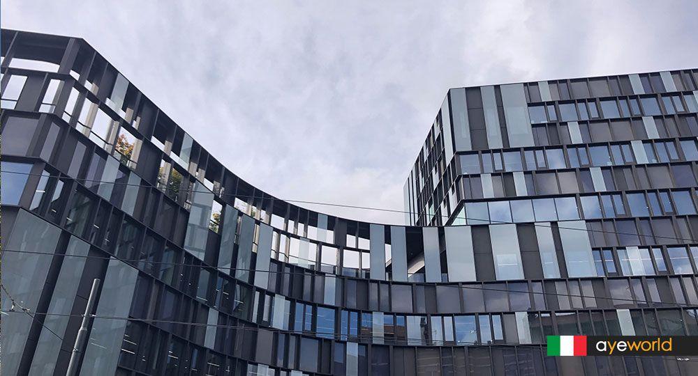 Arquitectura + Espacio público + Café = Nuvola Lavazza