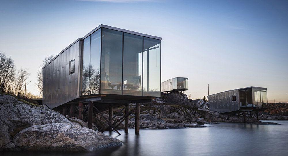 Eco-retiro en el círculo polar ártico: Manshausen 2.0, Stinessen Arkitektur