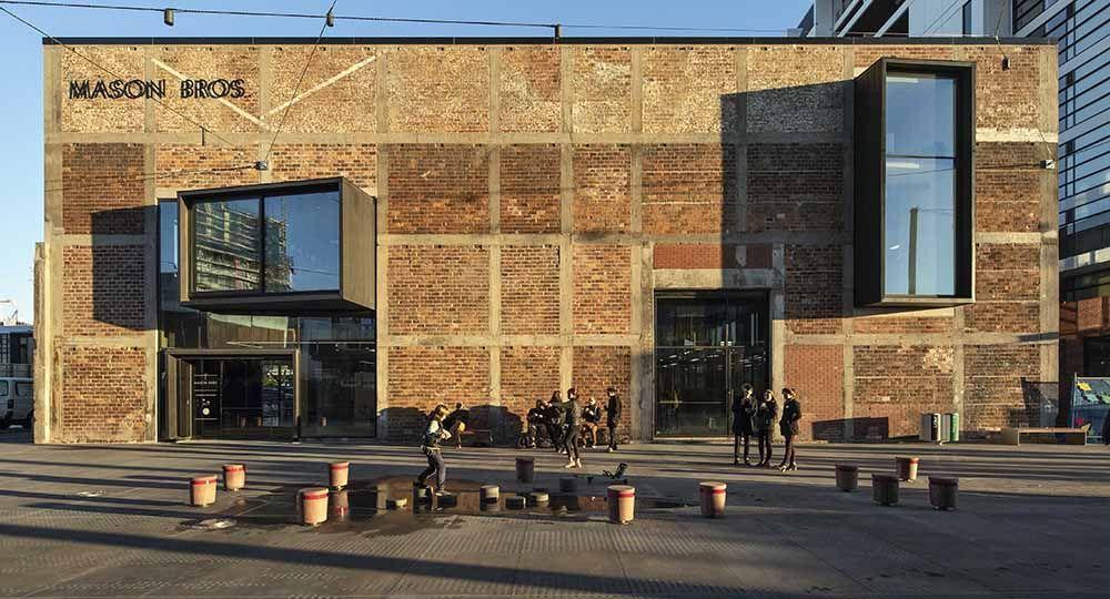 Transformación de antiguos almacenes en espacios comerciales: Mason Bros, de Warren & Mahoney