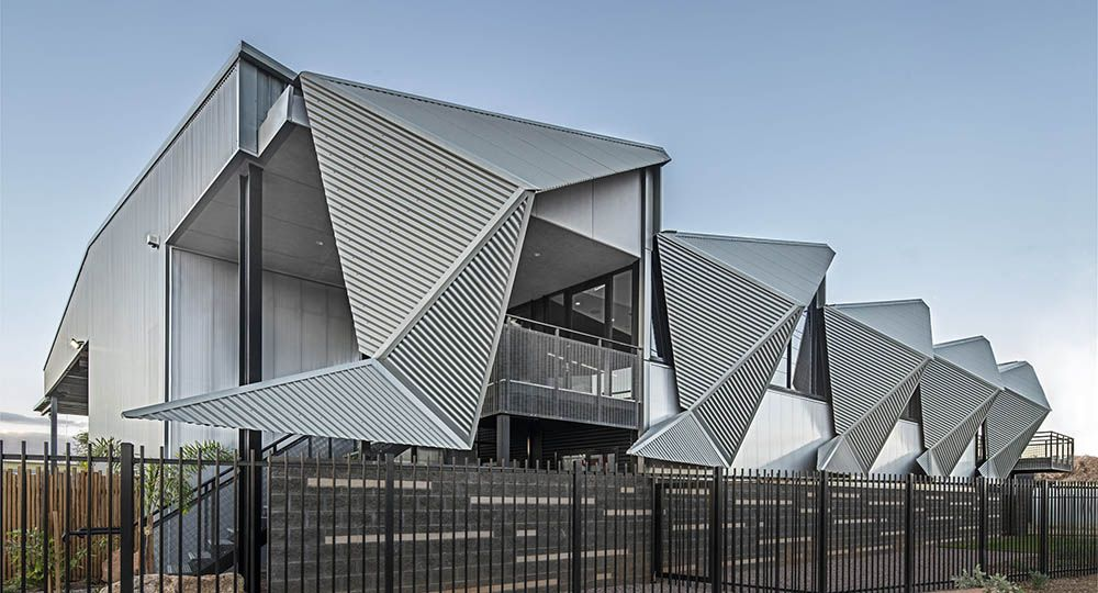 MPH HQ, industria y diseño arquitectónico. Susan Dugdale & Associates