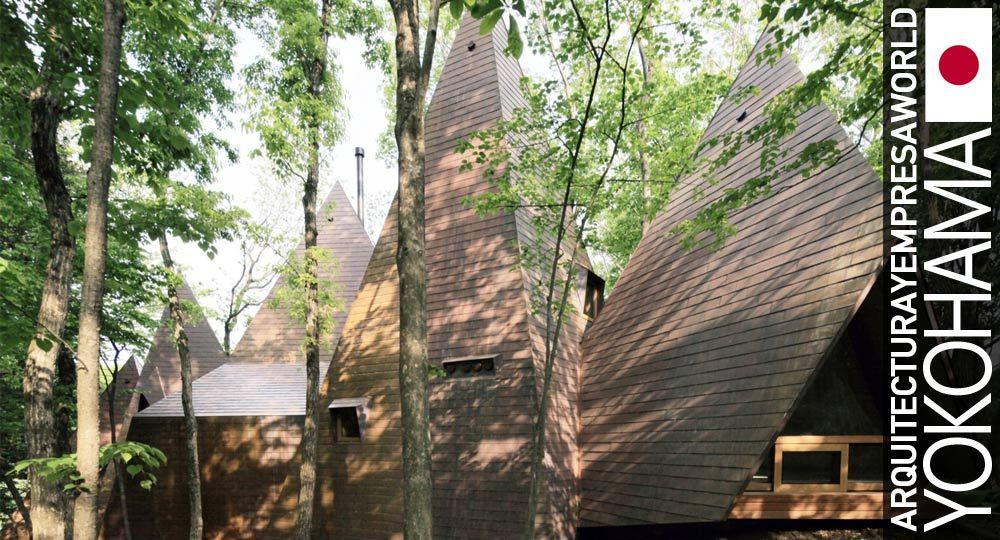 Nasu Tepee de Hiroshi Nakamura & NAP. Vida natural y arquitectura responsable
