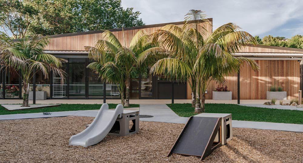 Centros educativos sostenibles: escuela infantil New Shoots