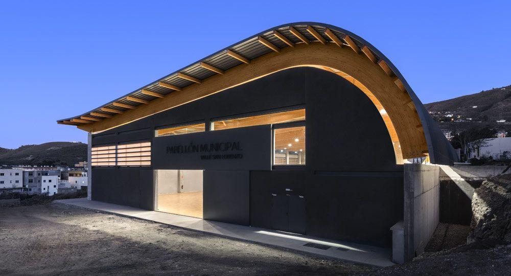 Arquitectura deportiva: Pabellón Municipal Valle San Lorenzo