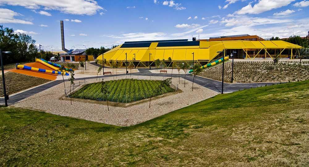 Plaza Ecópolis, una arquitectura bioclimática pensada para los más pequeños