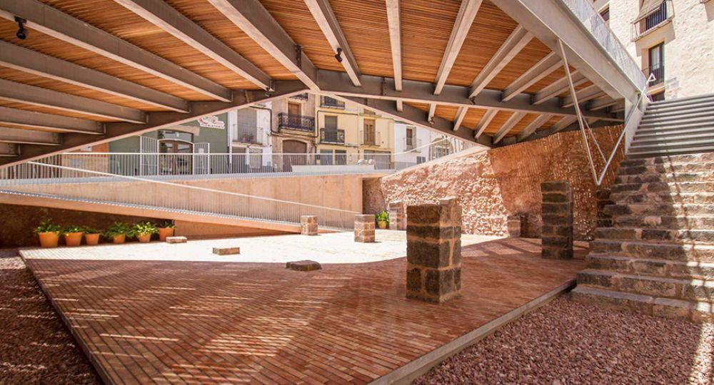 Plaza de la Sinagoga, un espacio público recuperado