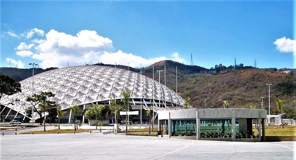 Poliedro de Caracas: Arquitectura geodésica