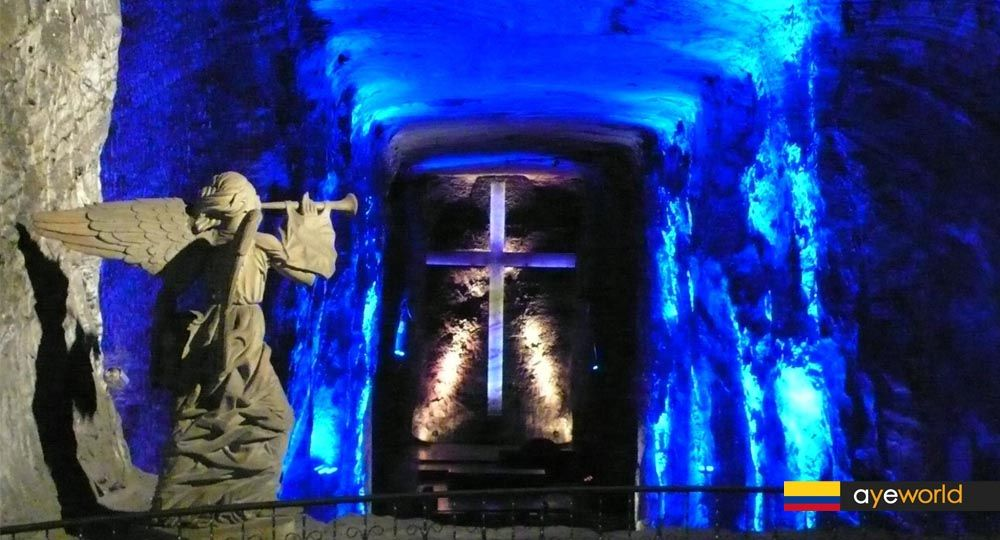 Arquitectura estereotómica: Catedral de Sal de Zipaquirá