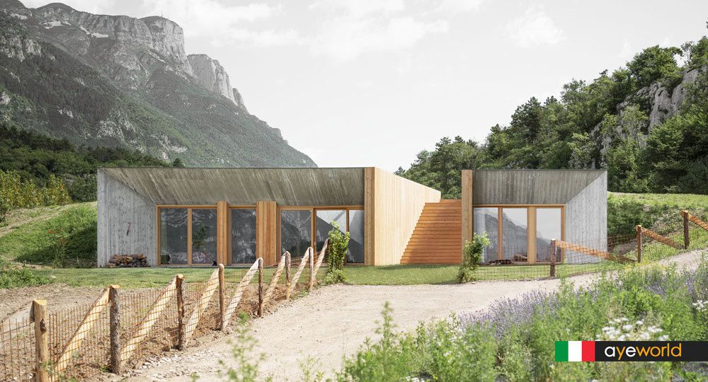 Studio Raro reinterpreta la arquitectura rural alpina