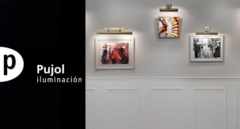 Pujol Iluminación diseña una colección específica para realzar obras de arte