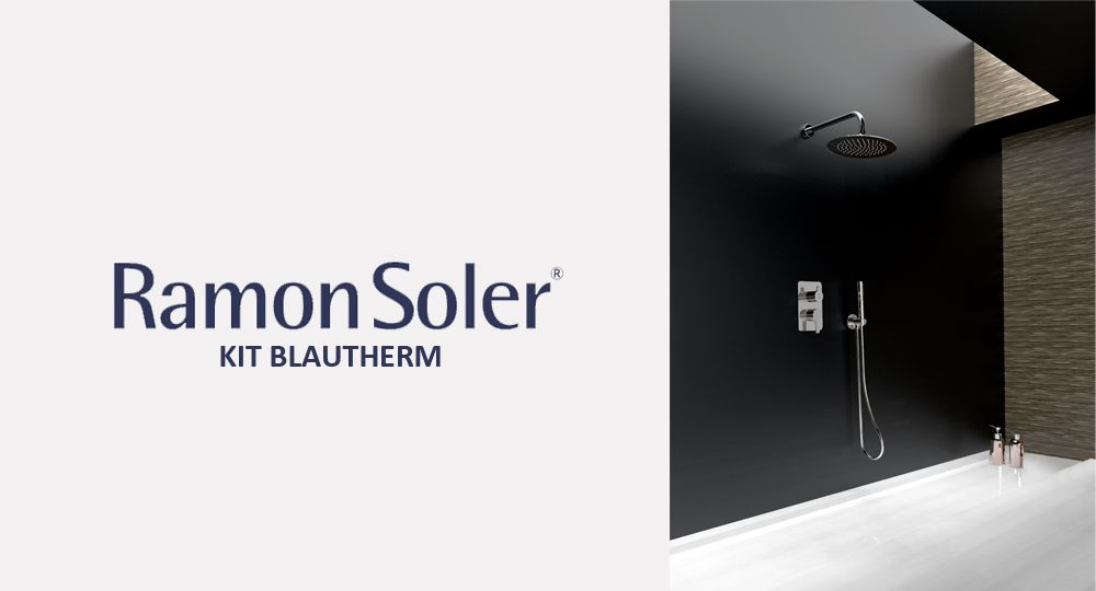 Diseño eficiente: KIT BLAUTHERM monomando empotrado de Ramon Soler®
