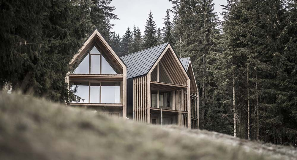 Refugio Maranza, arquitectura alpina y turismo de montaña. Architekt Andreas Gruber