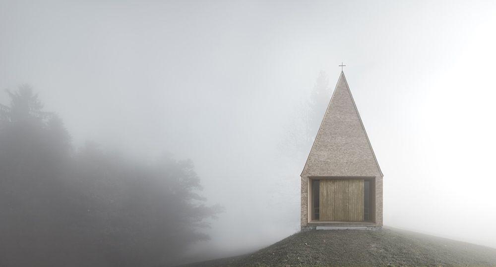 Arquitectura religiosa sostenible: Capilla Salgenreute