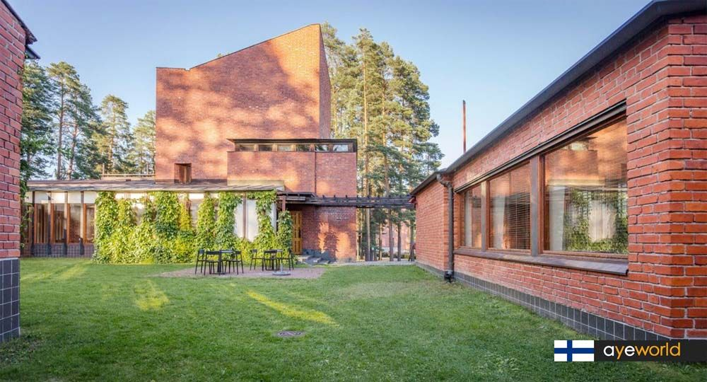 Alvar Aalto: Ayuntamiento de Saynätsalo