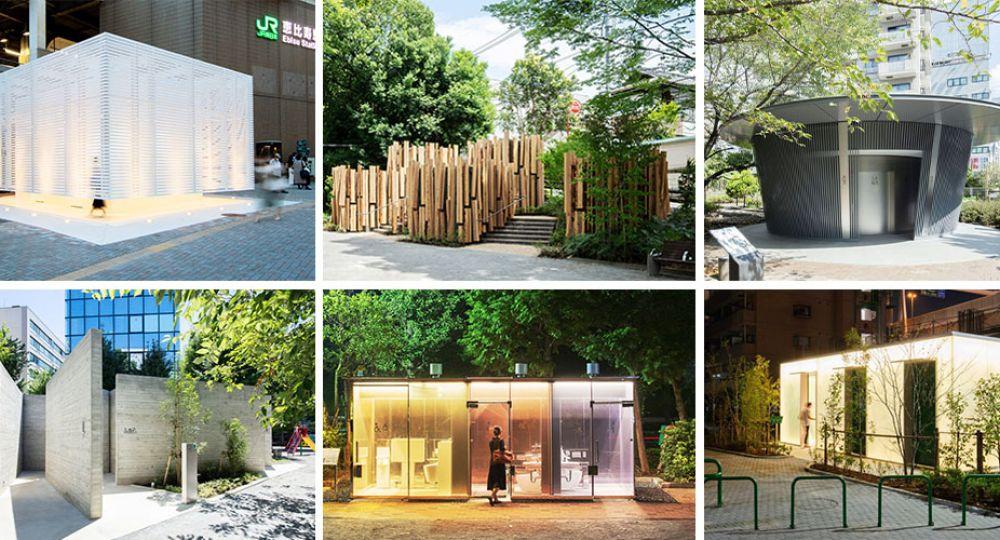 The Tokio Toilets, la arquitectura de los baños públicos de Tokio