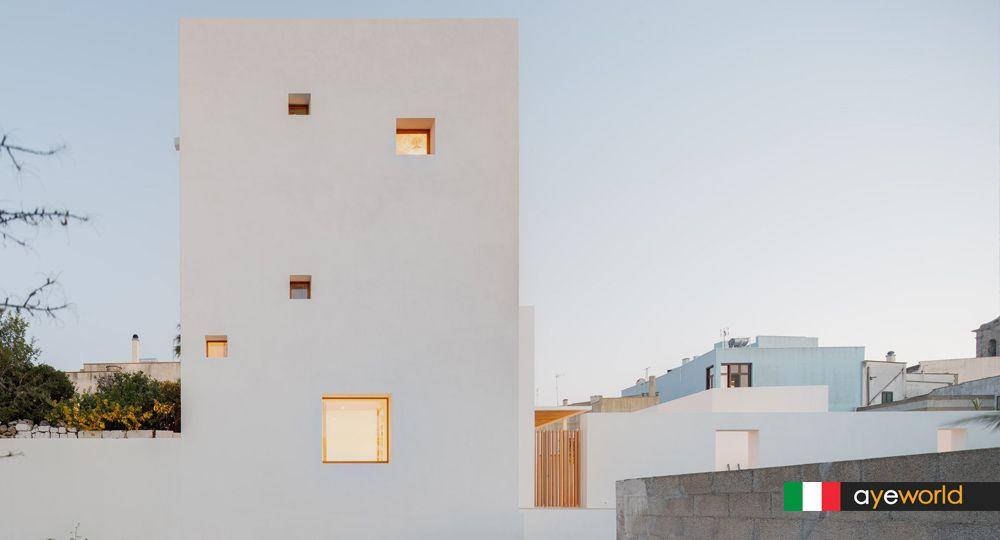 La Torre Bianca: una síntesis de la arquitectura tradicional salentina