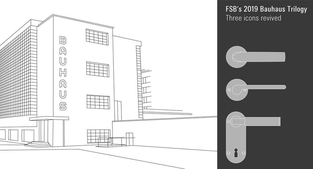 FSB finaliza el año 2019 con la magnífica colección Trilogía Bauhaus