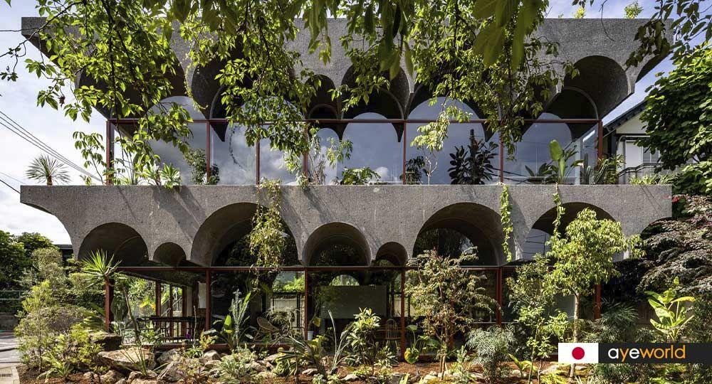 Casa Tsuruoka: la casa jardín de Kiyoaki Takeda Architects