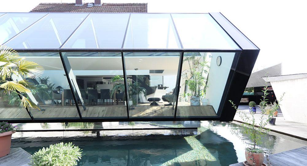 Espacios añadidos ligeros y luminosos. Whohnhaus N, Gronych + Dollega Architekten