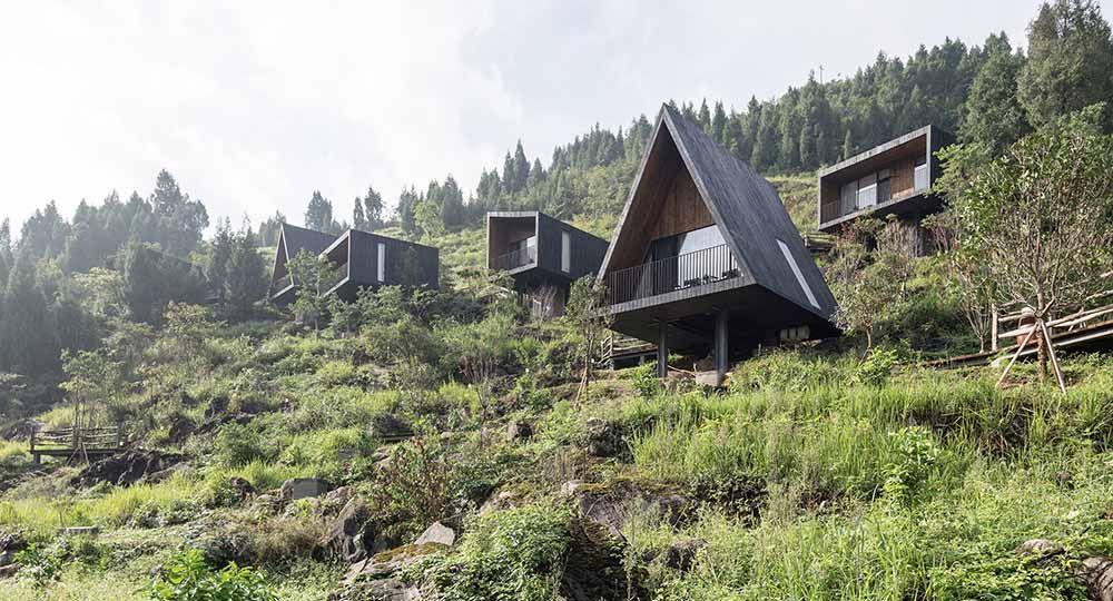 Woodhouse Hotel, arquitectura sostenible y turismo rural como impulso económico en zonas desfavorecidas.