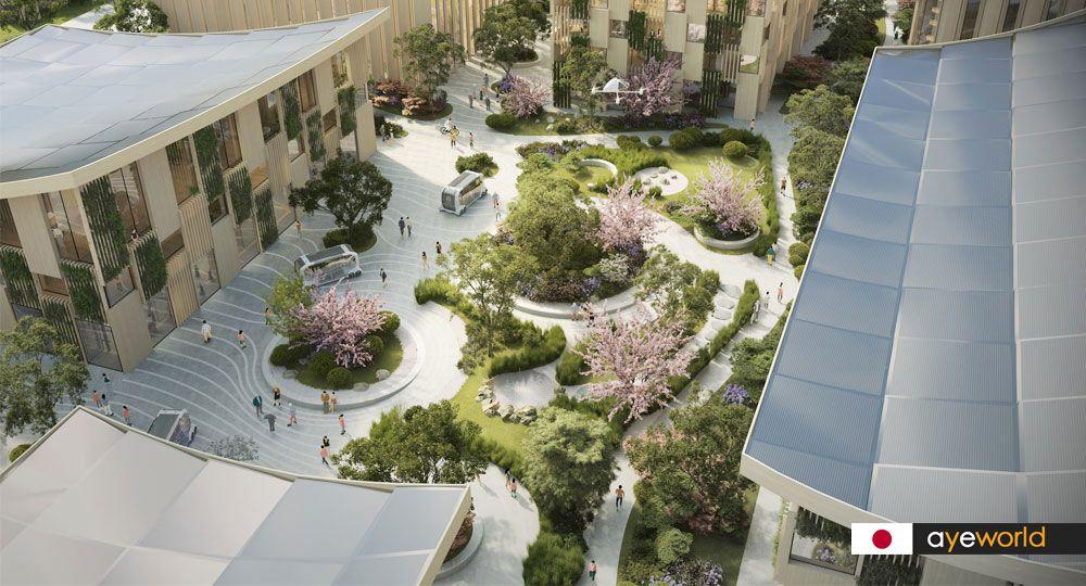 BIG y Toyota diseñan Woven City: La ciudad del futuro en Japón