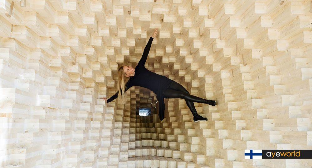 Y Installation: Arquitectura paramétrica en madera