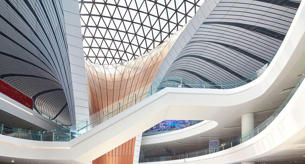 El aeropuerto con forma de estrella de mar de Zaha Hadid Architects