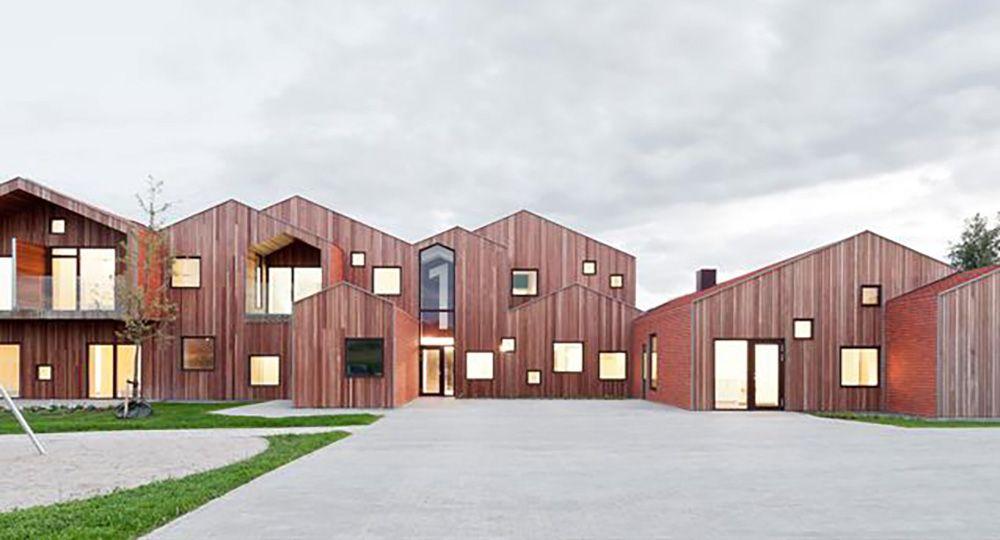 Una casa para los niños sin hogar en Kerteminde, Dinamarca, de CEBRA Architects.