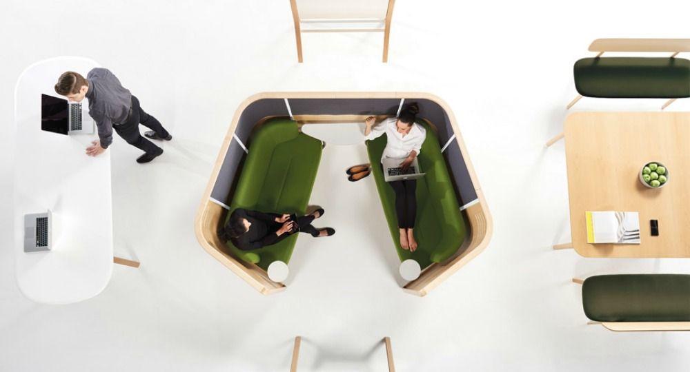 Evolución del mobiliario de oficina. Pearson Lloyd + Teknion