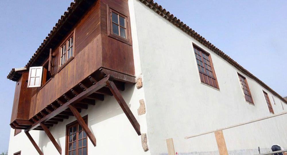 La Casa Borges-Estévanez Bien de Interés Cultural  del siglo XVIII en la Laguna, los trabajos de  rehabilitación podrían  finalizar este verano.