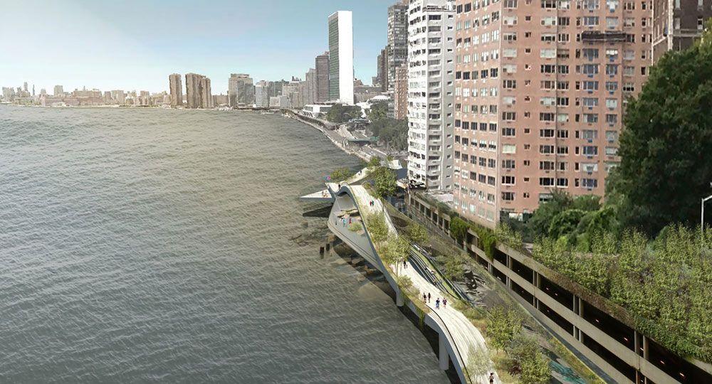 wHY arquitectura. Diseño urbano a orillas de Manhattan