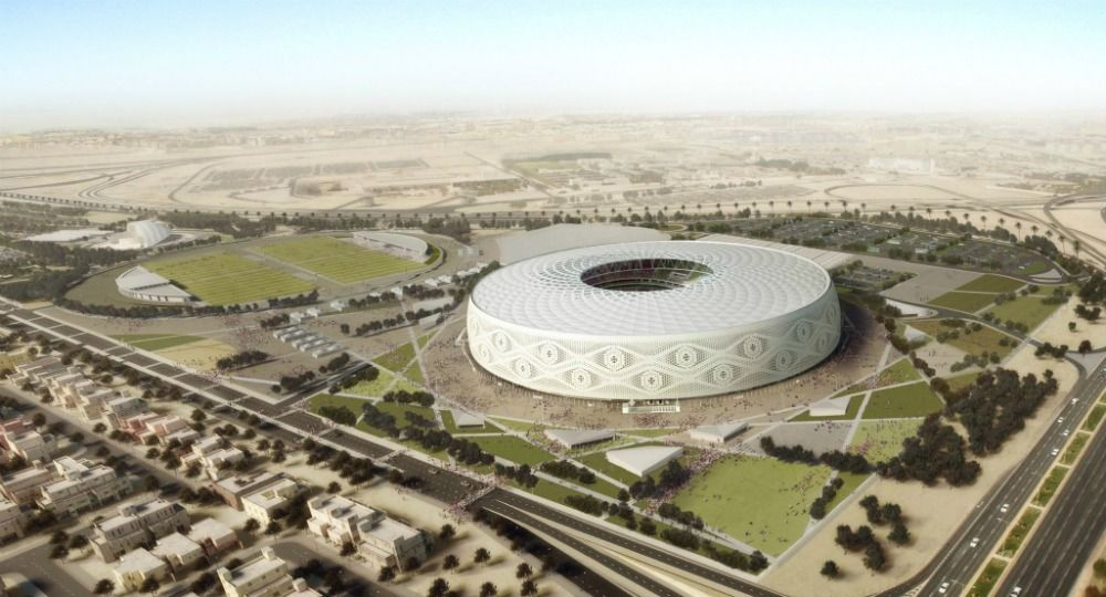Estadio Al Thumama para la FIFA World Cup 2022. Arquitecto Ibrahim M Jaidah