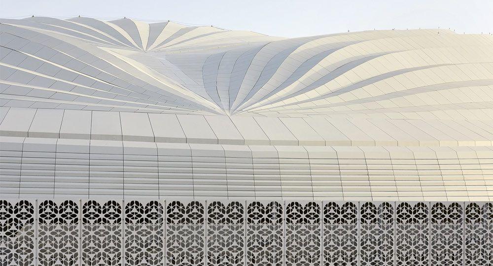 Al Wakrah Stadium de Zaha Hadid Architects. Estadios oficiales Mundial FIFA 2022
