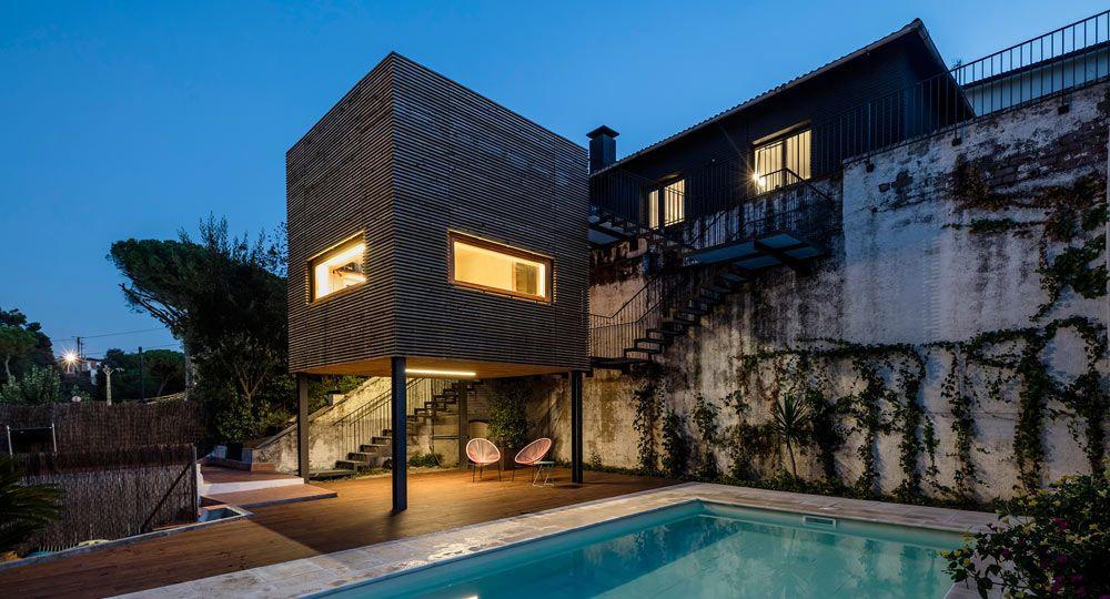 Alventosa Morell Arquitectes. Un muro, un volumen y un recorrido