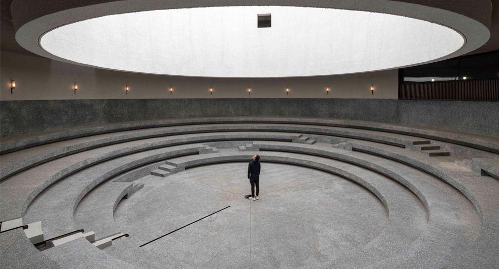 Aranya Art Center. Neri&Hu diseña una galería de arte inspirada en el agua