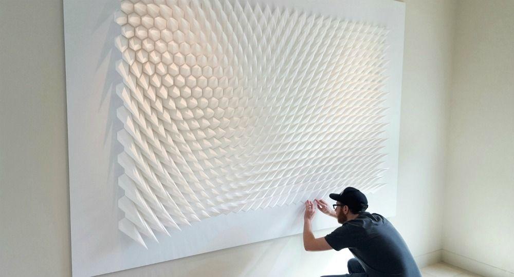 Arquitectura cinética, ingeniería del papel. Matthew Slian
