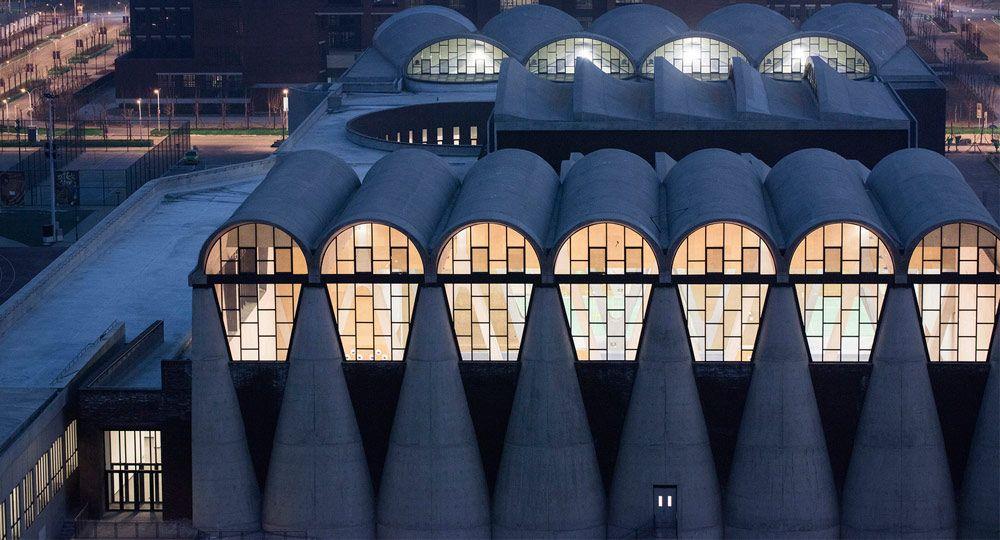 Campus de la Universidad de Tianjin. Arquitectura deportiva y sensorial