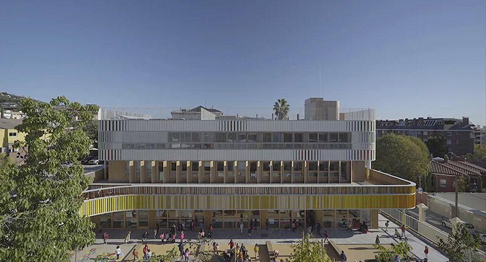 B720 Fermín Vázquez Arquitectos. Liceo Francés de Barcelona