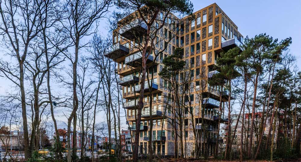Torre Belvedere: Expansión en altura. Arquitecto René van Zuuk