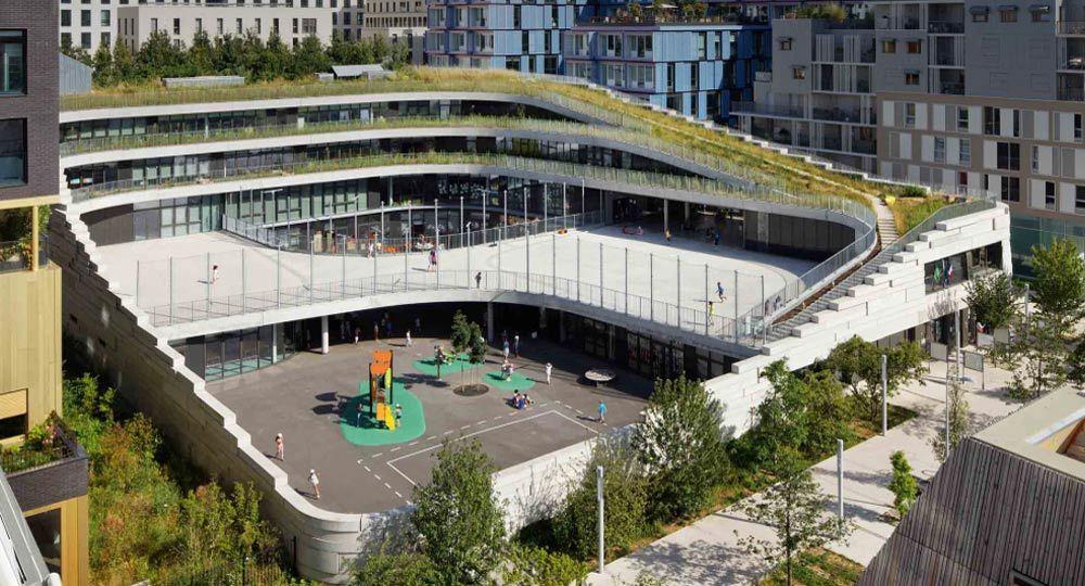 Escuela primaria Biodiversity. Estudio de arquitectura Chartier Dalix
