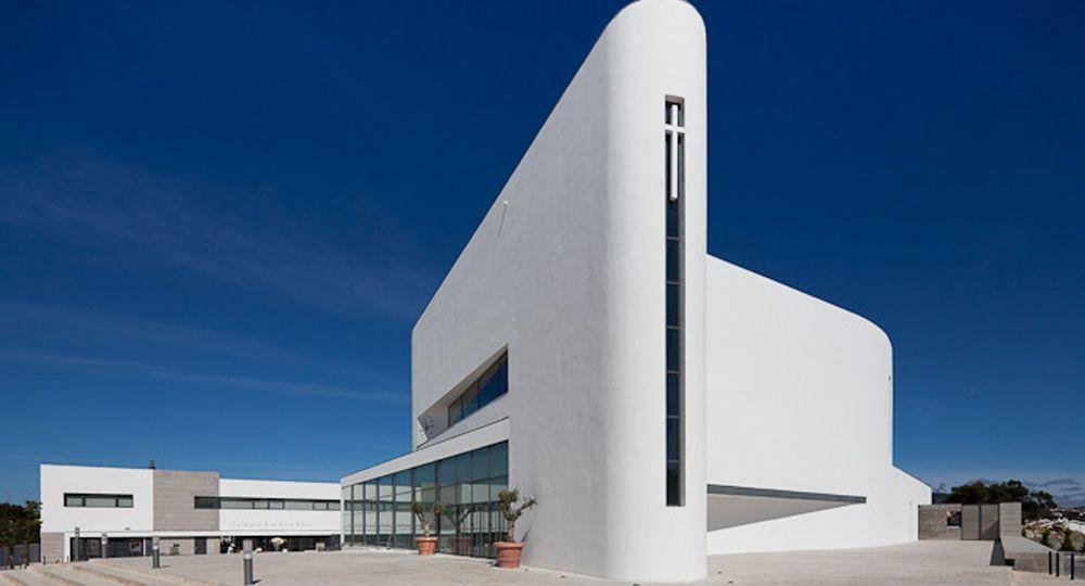 Proyecto Iglesia Boa Nova de Roseta Vaz Monteiro Arquitectos
