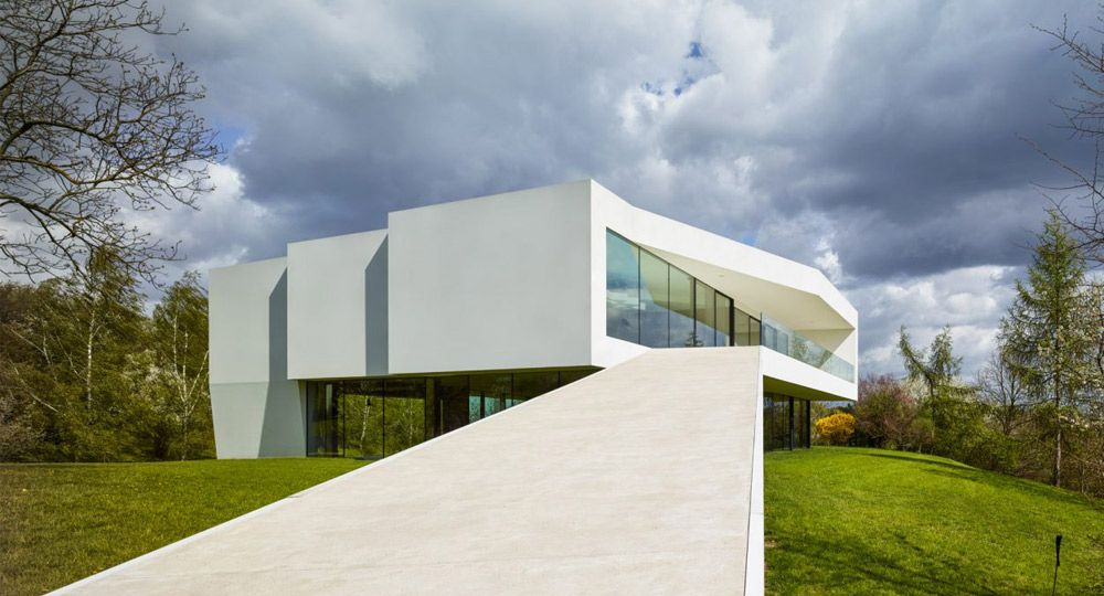 By the Way House de KWK Promes. Arquitectura envolvente