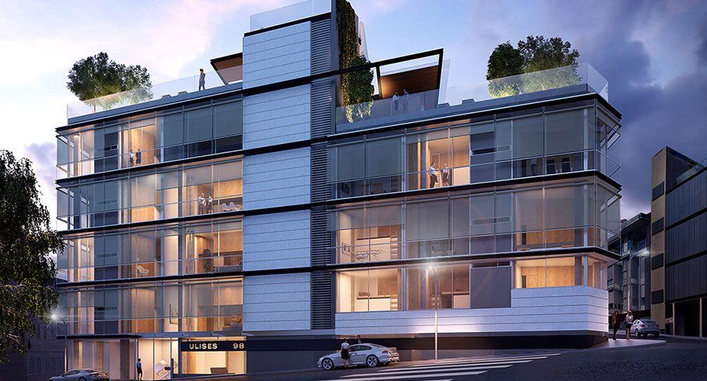 Proyecto residencial de Bueso-Inchausti & Rein Arquitectos en la calle Plaza de Madrid