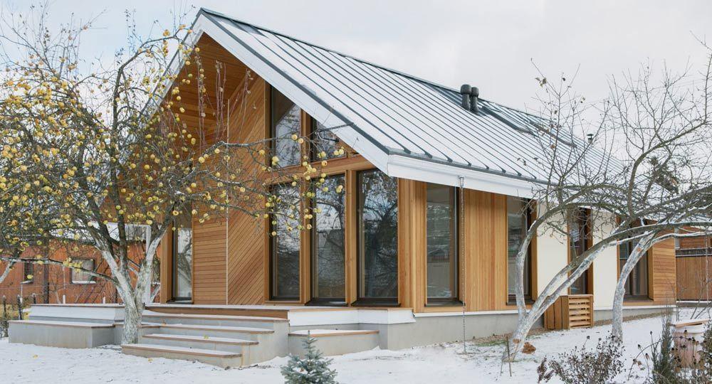 Arquitectura minimalista. Casa de verano en Raubichi de Zrobym Architects