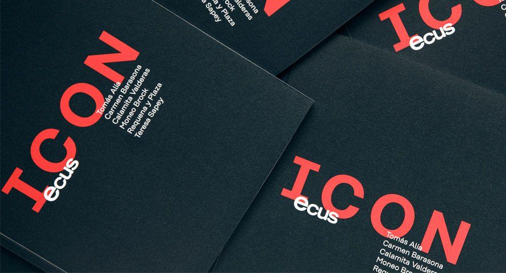 ICON de Ecus, un nuevo catálogo de diseño para una colección exclusiva