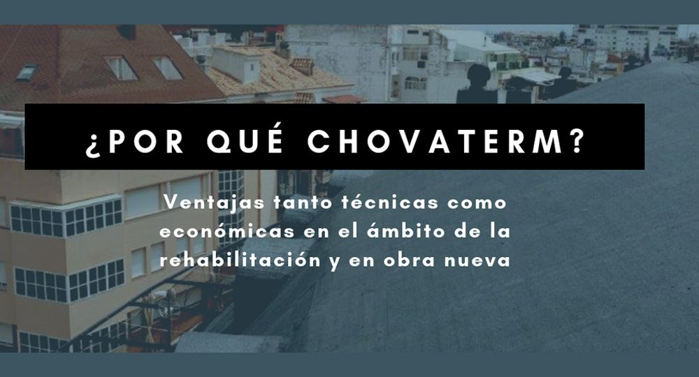 ¿Por qué ChovATERM? Materiales impermeabilizantes para cubierta