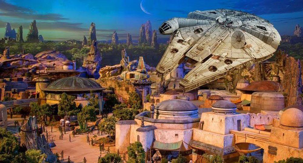 Disney Star Wars. Arquitectura temática cinematográfica
