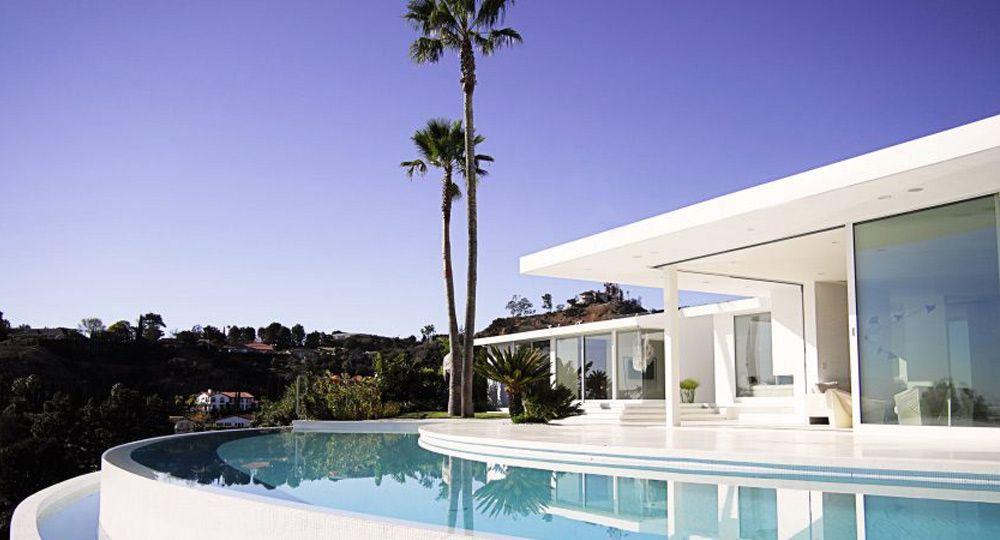 Arquitectura de verano en Los Ángeles. Proyecto Edwin Residence