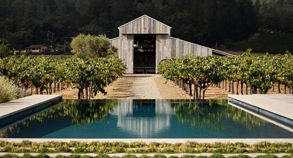 Casa Zinfandel de Field Architecture. Casa entre viñedos