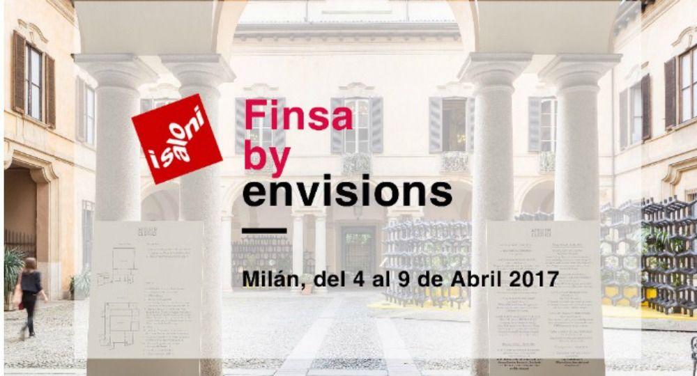 Finsa en el Salone del Mobile de Milán. Finsa by Envisions, el futuro del diseño